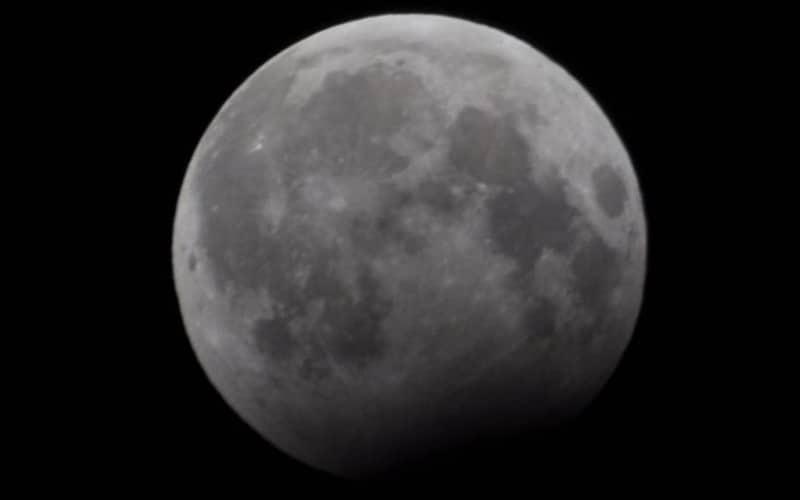 A rare Blue Moon