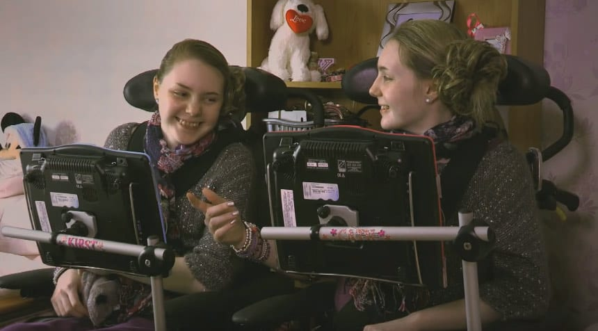The twin sisters who suffer from Field's Disease are the only two known cases.