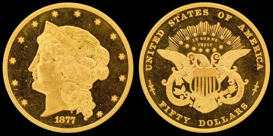 The 1877 half union is one of the rarest coins in the world.