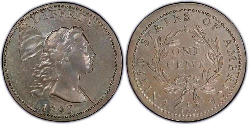 1793 Liberty Cap Large Cent