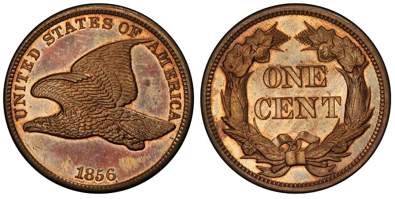 1856 Flying Eagle Cent