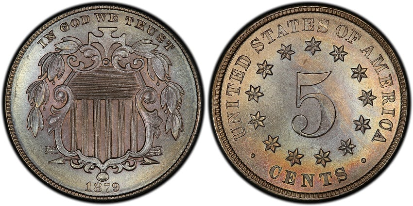 1879 Shield Nickel