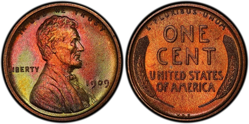1909 VDB Matte Proof Lincoln Cent