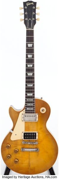 1959 Left-handed Gibson Les Paul Standard Sunburst