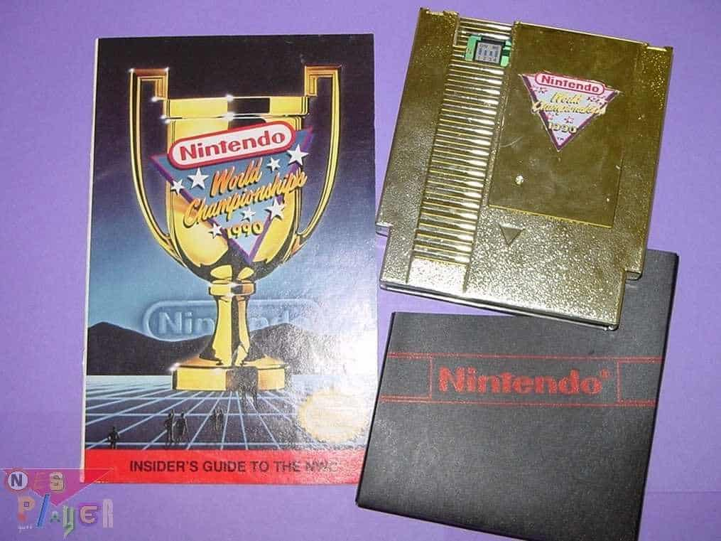 1990 Nintendo World Championships Gold Edition