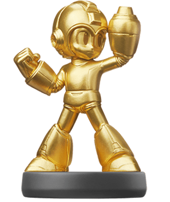 Golden Mega Man Amiibo