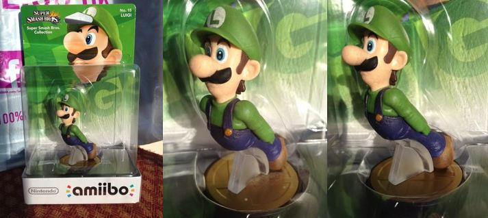 No Left Hand Luigi