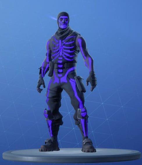 Purple Glow Skull Trooper