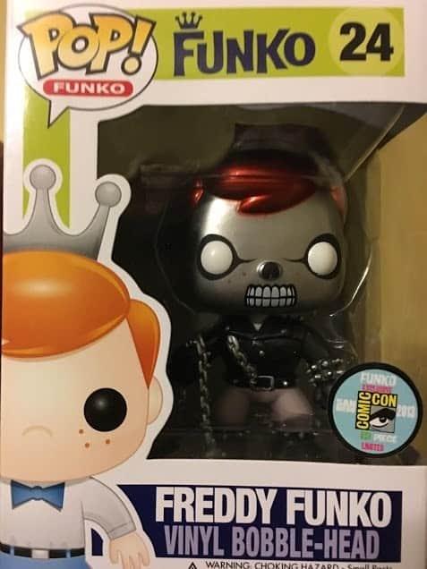Freddy Funko as Ghost Rider (Metallic)