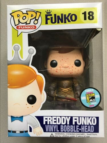 Freddy Funko as Jaime Lannister