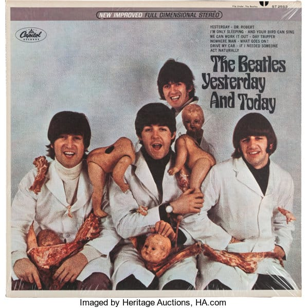 Sealed Copy of The Beatles Yesterday and Today