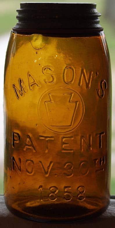 Mason's Zinc Lid Jar