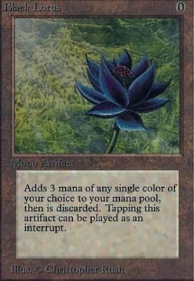 Black Lotus Magic the Gathering Card
