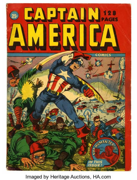 Captain America 128 Page Issue