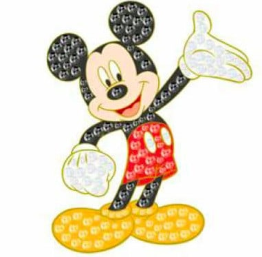 Dream Jeweled Mickey Mouse Pin