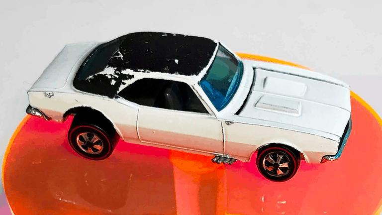 Hot Wheels White Enamel Camaro Prototype