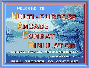 Multipurpose Arcade Combat Simulator
