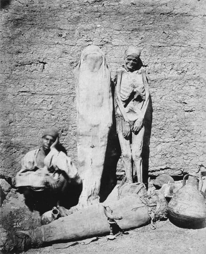A Mummy Street Vendor