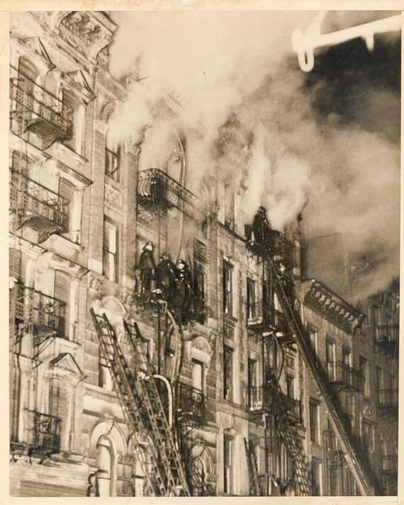 Harlem Tenement Fire