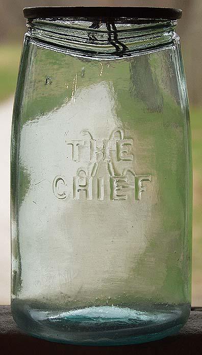 The Chief Mason Jar