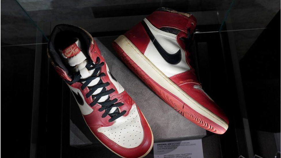 1985 Exhibition Game Air Jordan 1s