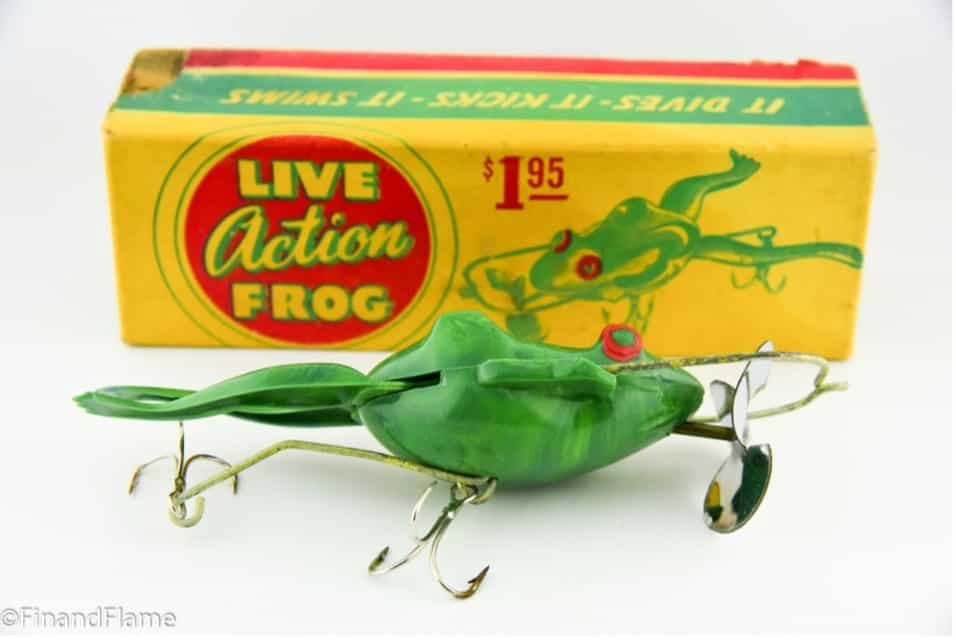 Live Action Frog Lure