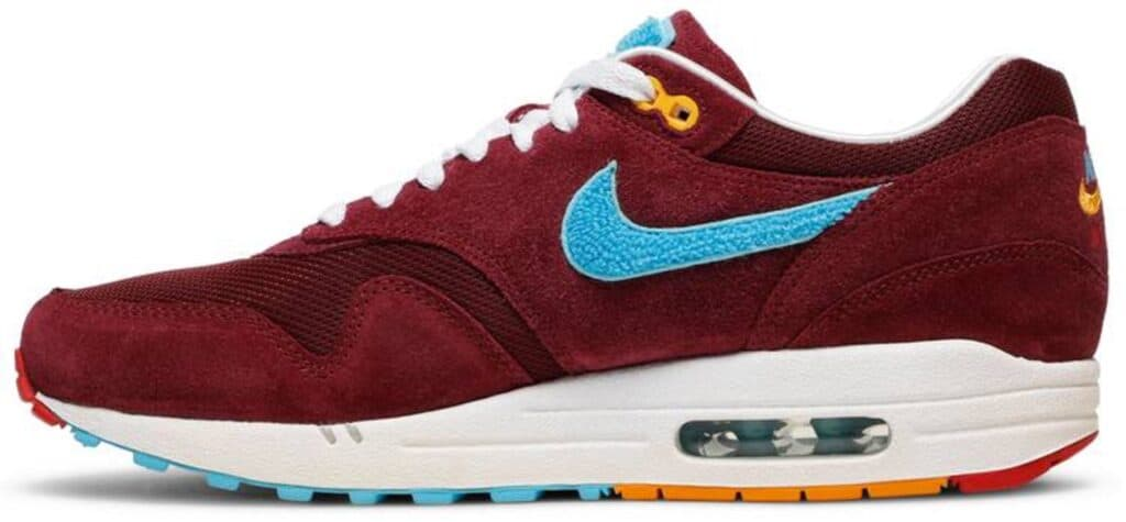 Patta x Parra x Air Max 1 Premium 'Cherrywood'