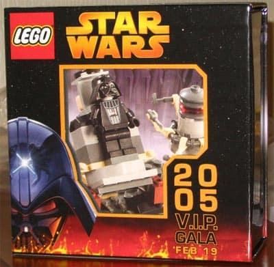 Lego Toy Fair Star Wars V.I.P. Gala Set Vader