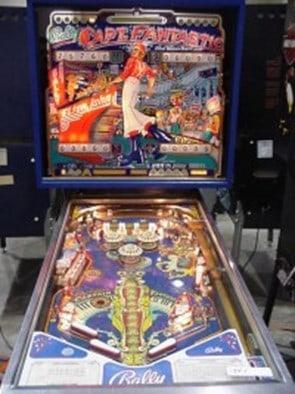 Captain Fantastic Elton John's Turn-Based Pinball