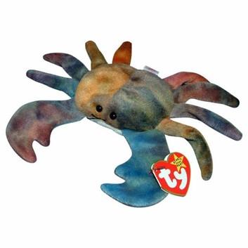 Claude the Crab Beanie Baby