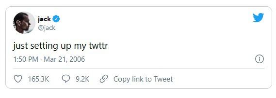 First Tweet Ever