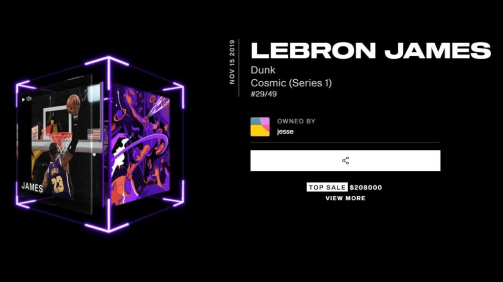 "LeBron James ""Cosmic"" Dunk #29"