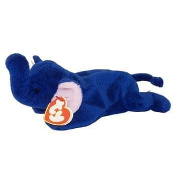 "Royal Blue ""Peanut"" Elephants"