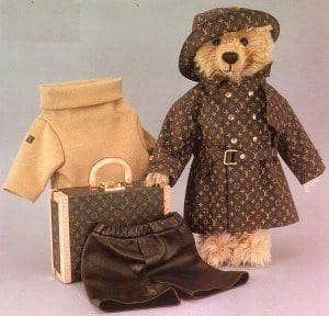 Steiff & Louis Vuitton bear