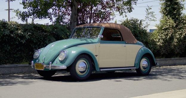 1949 Volkswagen Hebmüller Type 14A Beetle Cabriolet