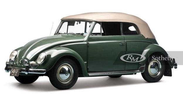 1954 Volkswagen Beetle 1200 Deluxe Cabriolet