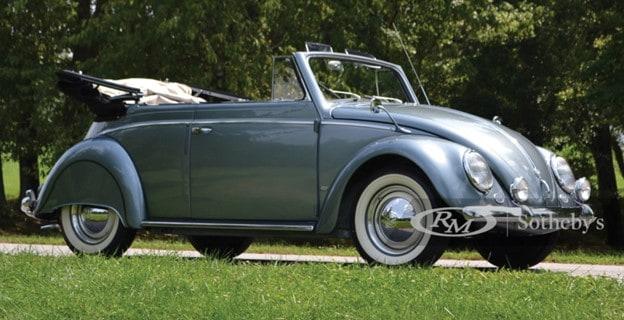 1955 Volkswagen Beetle Cabriolet