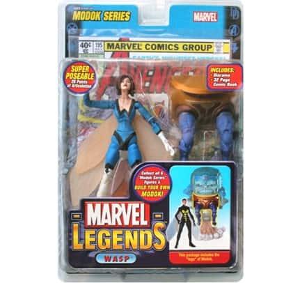 Marvel Legends Wasp, Blue Wasp Variant