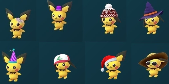 Pichu with Any Hat