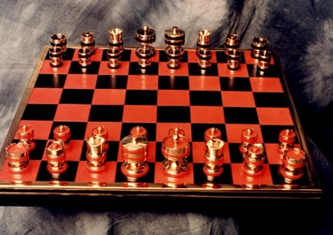 The Queen's Silver Jubilee Limited Edition Chess Set