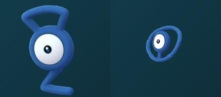 Unown G and O