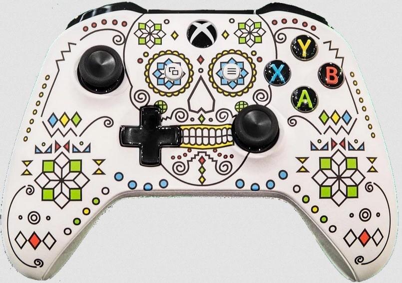 X018 Sugar Skull