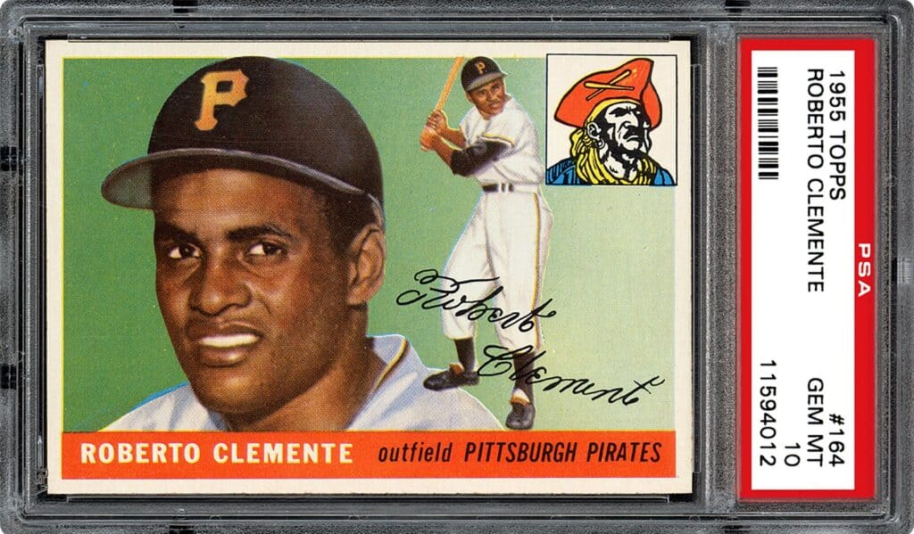 #164 Roberto Clemente Rookie Card