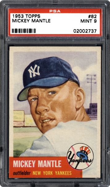 #82 Mickey Mantle