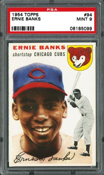 #94 Ernie Banks Rookie Card