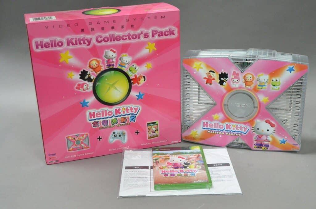 Hello Kitty Crystal Xbox