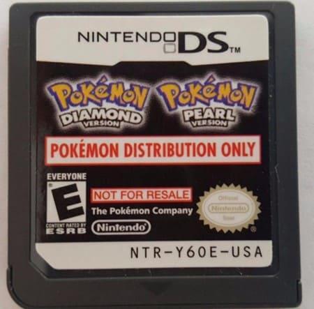 Pokémon Diamond and Pearl Distribution Cart