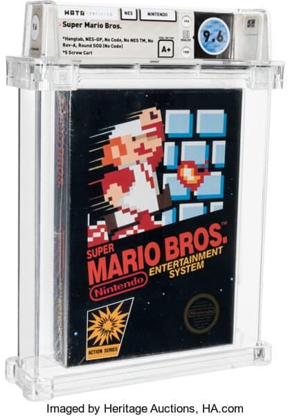 Sealed Copy of Super Mario Bros.