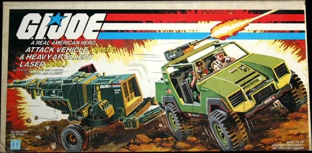 G.I. Joe VAMP & HAL Sears Exclusive