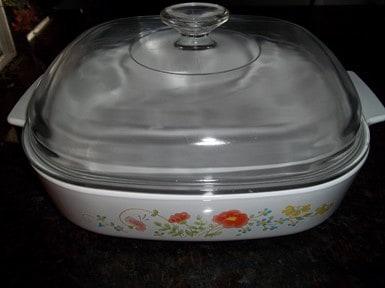 Wildflower Casserole Dish